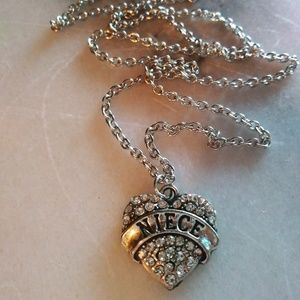 Free gift with $15 purchase niece necklace